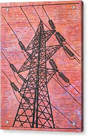 Power Acrylic Print by William Cauthern