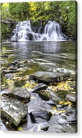 Powerhouse Falls Acrylic Print by Twenty Two North Photography
