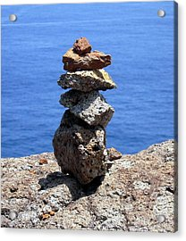 Prayer Stones Acrylic Print