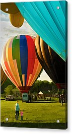 Acrylic Print featuring the photograph Preakness Balloon Festival by Dana Sohr