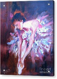 Acrylic Print featuring the painting Preparing To Enchant by Marcia Dutton
