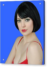 Acrylic Print featuring the photograph Pretty Woman by Jim Poulos