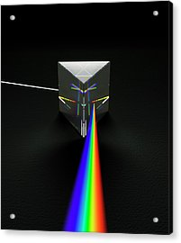 Prism And Spectrum Acrylic Print