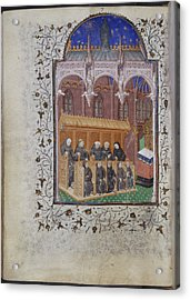 Psalter Of Henry Vi Acrylic Print by British Library