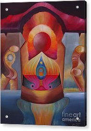 Puerta Solar Acrylic Print by Aliosha Valle