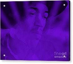 Purple Haze Acrylic Print by Janice Westerberg