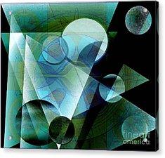 Quest Acrylic Print by Iris Gelbart