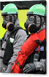 Radiation Emergency Response Workers Acrylic Print