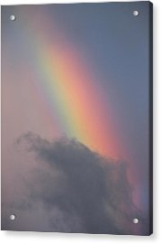 Rainbow Smaug Acrylic Print