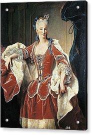 Ranc, Jean 1674-1735. Portrait Acrylic Print