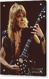 Randy Rhoads At The Cow Palace In San Francisco - 1st Concert Of The Diary Tour Acrylic Print