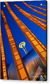 Reach For The Sky Acrylic Print by Inge Johnsson