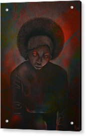 Acrylic Print featuring the painting Reciprocity by AC Williams