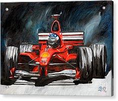 Red #3 Acrylic Print