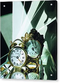 Reflections Acrylic Print by Denny Bond
