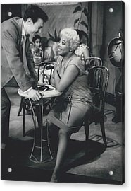 Rehearsing New Negro Musical Comedy Acrylic Print by Retro Images Archive