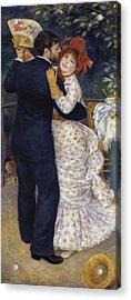 Renoir, Pierre-auguste 1841-1919. Dance Acrylic Print by Everett