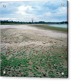 Reservoir Drought Acrylic Print