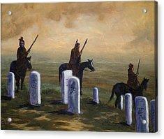 Return To Little Bighorn  Acrylic Print