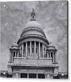 Ri State House Acrylic Print by Lourry Legarde