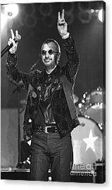 Ringo Starr And His All Starr Band Acrylic Print by Concert Photos