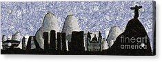 Rio De Janeiro Skyline Acrylic Print by Michal Boubin