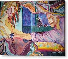 Rituals Acrylic Print by Diana Bursztein