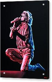 Rod Stewart Acrylic Print by Paul Meijering