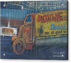 Acrylic Print featuring the painting Ronnie John's by Donald Maier