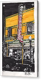 Rosemount Grill Acrylic Print by Paul Guyer