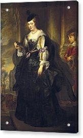 Rubens, Peter Paul 1577-1640. Helena Acrylic Print by Everett