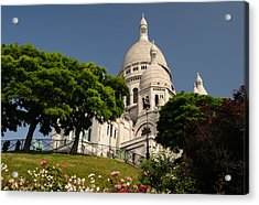 Acrylic Print featuring the photograph Sacre Coeur by Jeremy Voisey