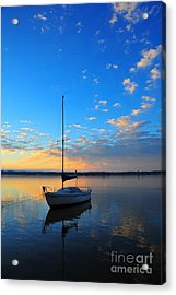 Acrylic Print featuring the photograph Sailing 2 by Terri Gostola
