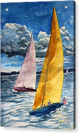 Sailors Delight  Acrylic Print by Enola McClincey