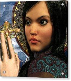 Saint Magdalene Of Nagasaki Acrylic Print