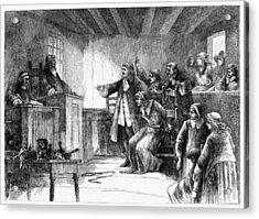Salem Witch Trials, 1692 Acrylic Print