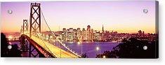 San Francisco Ca Acrylic Print by Panoramic Images
