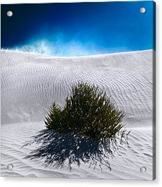 Acrylic Print featuring the photograph Sand Storm by Julian Cook