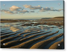 Saunton Sands Devon Acrylic Print by Pete Hemington