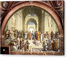 School Of Athens Acrylic Print