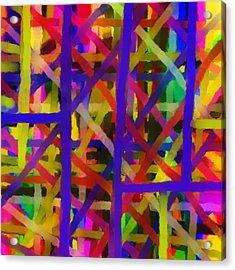 Schreien Acrylic Print by Sir Josef - Social Critic -  Maha Art