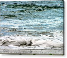 Sea Acrylic Print by Oleg Zavarzin