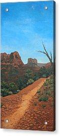 Sedona Trail Acrylic Print