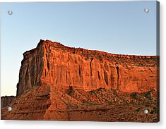 Sentinel Mesa Monument Valley Acrylic Print