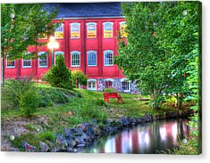 Serenity In Hdr Acrylic Print