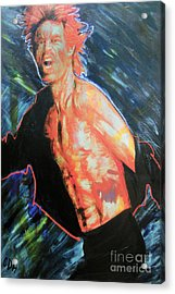 Shattered Acrylic Print by Carole Heslin