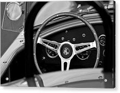 Shelby Ac Cobra Steering Wheel Acrylic Print