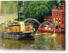 Ship Shape Acrylic Print by Frozen in Time Fine Art Photography