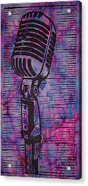Shure 55s Acrylic Print by William Cauthern