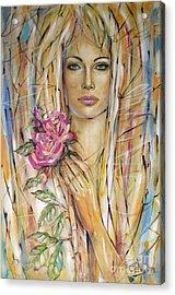 Silence Of Roses 020209 Acrylic Print